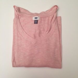Amazing light pink v-neck sweater